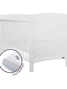 obaby-grace-cot-bed-withnbspfree-mattress