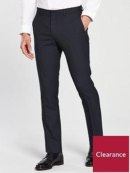 v-by-very-navy-check-slim-trousers