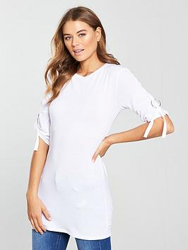 v-by-very-d-ring-detail-tunic-white