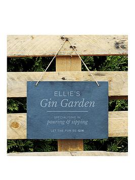 the-personalised-memento-company-personalised-gin-garden-large-hanging-slate-sign