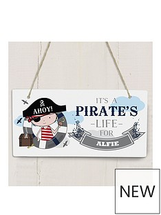 personalised-pirate-wooden-sign