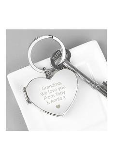 personalised-heart-photo-key-ring
