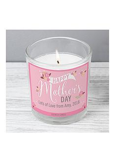 mothers-day-personalised-floral-bouquet-mother039s-day-scented-jar-candle