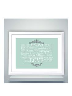 personalised-typography-wedding-poster
