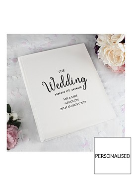 personalised-rustic-wedding-traditional-album