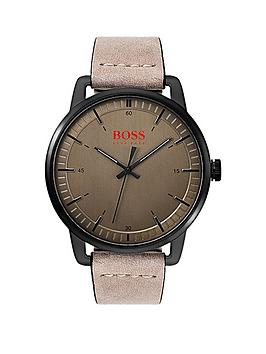 hugo-boss-orange-stockholm-bronze-dial-beige-leather-strap-mens-watch