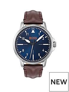 hugo-boss-hugo-boss-orange-chicago-blue-dial-brown-leather-strap-mens-watch