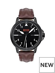 hugo-boss-hugo-boss-orange-chicago-black-dial-brown-leather-strap-mens-watch