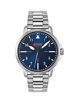 hugo-orange-chicago-blue-dial-stainless-steel-bracelet-mens-watch
