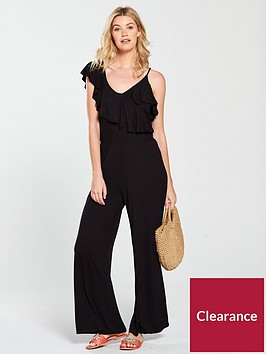 v-by-very-asymmetric-frill-jersey-jumpsuit-black
