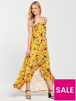 v-by-very-tall-dip-back-button-through-jersey-dress-mustard