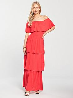 v-by-very-tiered-jersey-maxi-dress-coral