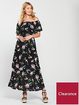v-by-very-tiered-jersey-floral-maxi-dress-black