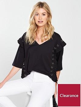 v-by-very-ring-frill-t-shirt-black
