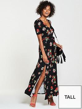 v-by-very-tall-deep-v-jersey-maxi-dress-floral-print