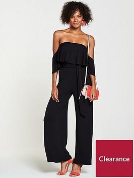 v-by-very-petite-bardot-frill-jersey-jumpsuit-black