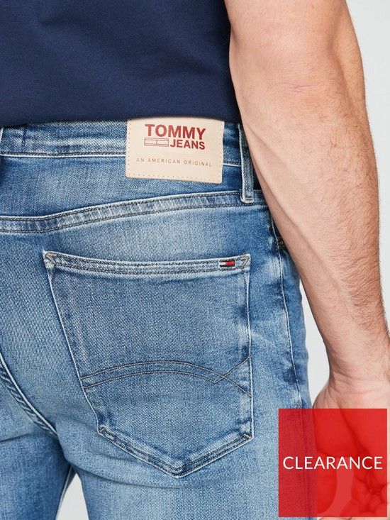 16b1bc7a ... Tommy Jeans Skinny Simon Jeans - Wilson Light Blue. View larger