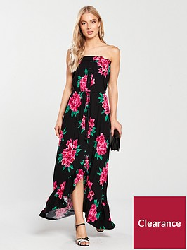 v-by-very-dip-back-button-through-jersey-dress-black-floral