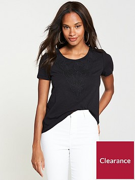 v-by-very-embroidered-insert-top-black