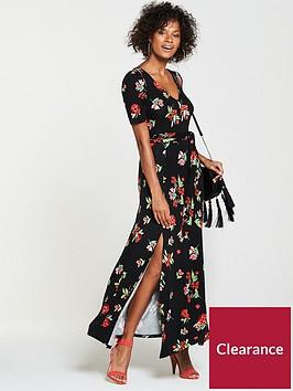 v-by-very-deep-v-maxi-dress-floral-print