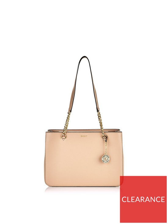 aed382fd2 DKNY Bryant Large Sutton Chain Handle Tote Bag - Taupe | very.co.uk