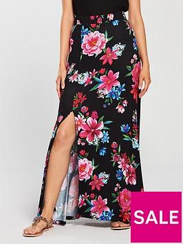 v-by-very-split-front-maxi-skirt-black-floral