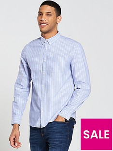 river-island-ls-stripe-oxford-shirt