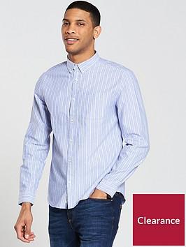 river-island-ls-stripe-oxford-shirt