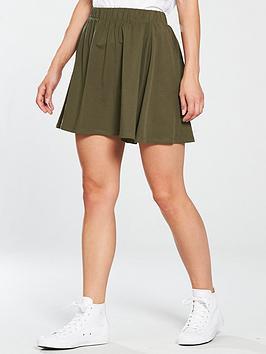 v-by-very-jersey-skater-skirt-khaki