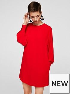 mango-puffed-sleeve-dress