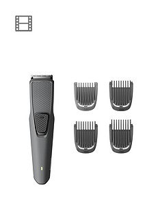 Philips Beard & Stubble Trimmer Series 1000 with USB charging– BT1216/15