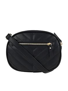 accessorize-otto-quilted-bumbag-black