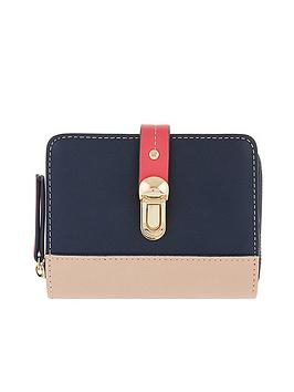 accessorize-accessorize-tara-colourblock-push-lock-wallet