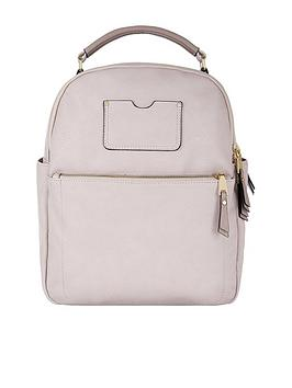 accessorize-dome-backpack-pink