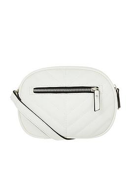 accessorize-otto-quilted-bumbag-white
