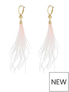 accessorize-statement-feather-earrings