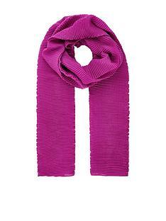 accessorize-lola-ribbed-scarf