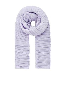 accessorize-sophie-soft-pleated-scarf-lilac