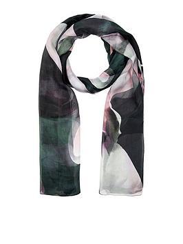 accessorize-oversize-tulips-silk-scarf