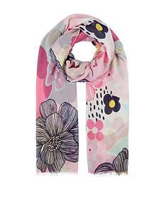 accessorize-oversize-retro-floral-scarf