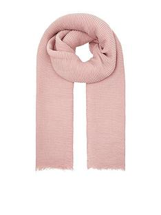 accessorize-lily-ribbed-scarf
