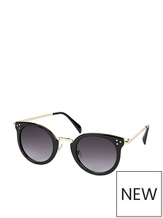 accessorize-accessorize-lizzy-metal-trim-round-sunglasses
