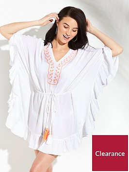 v-by-very-ruffle-kaftan