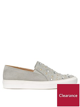 miss-selfridge-embellished-skater-shoe