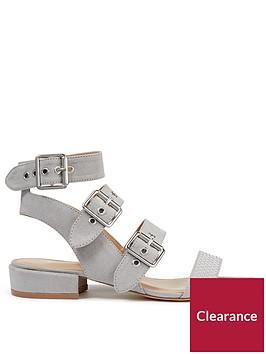 miss-selfridge-miss-selfridge-studded-gladiator-flat-sandal