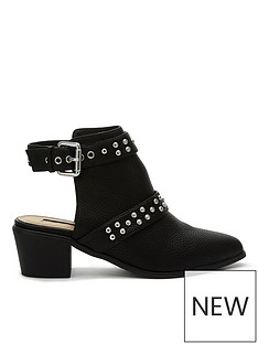 miss-selfridge-backless-stud-shoe-boot-black