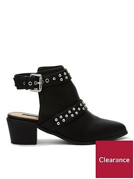 miss-selfridge-backless-stud-shoe-boot-black