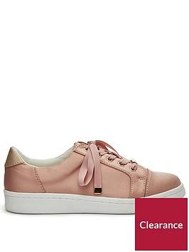 miss-selfridge-toe-cap-trainer-pink