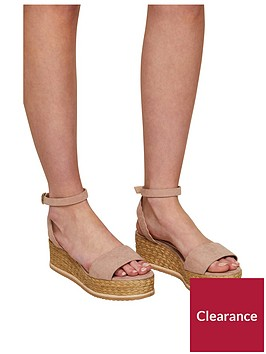 miss-selfridge-scalloped-flatform-sandal-nudenbsp