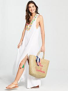 v-by-very-embroiderednbspsplit-beach-maxi-dress-white